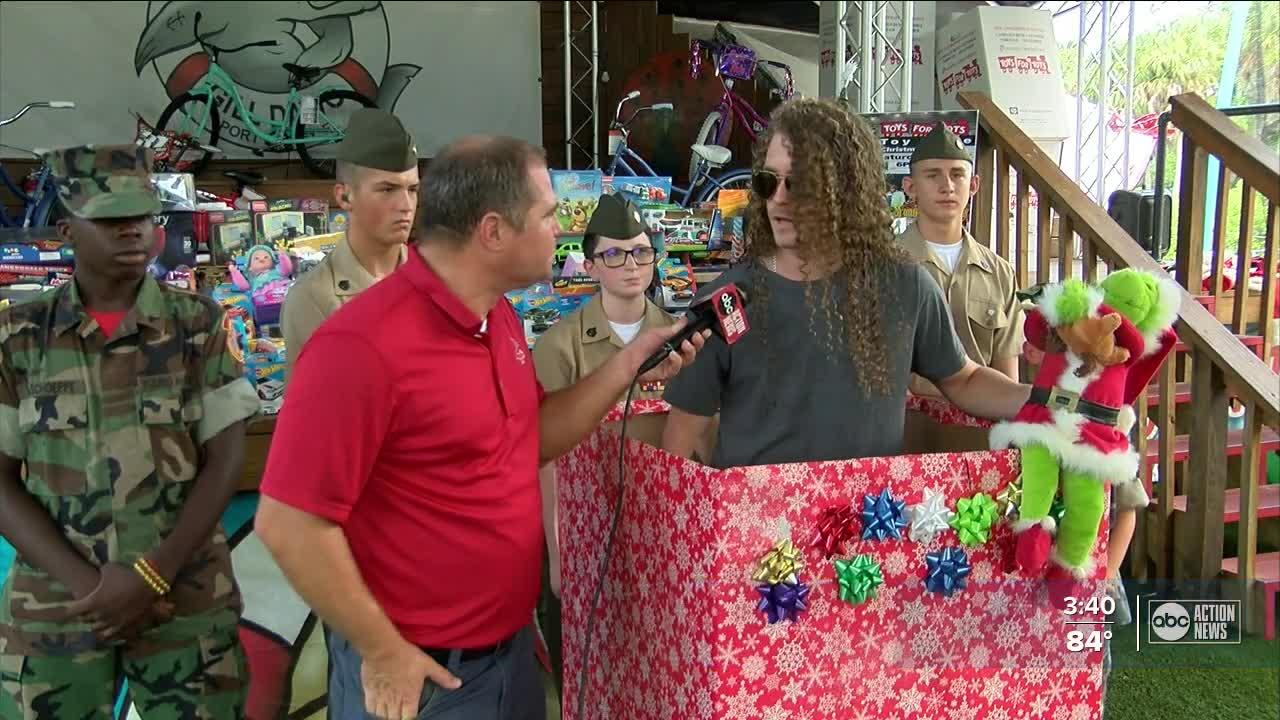 Christmas comes in July for Pasco County Toys For Tots