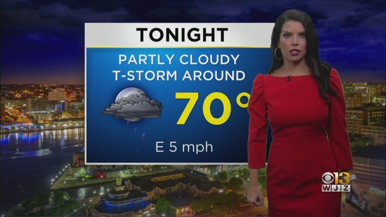 Meteorologist Chelsea Ingraham Has Your Wednesday Afternoon Forecast