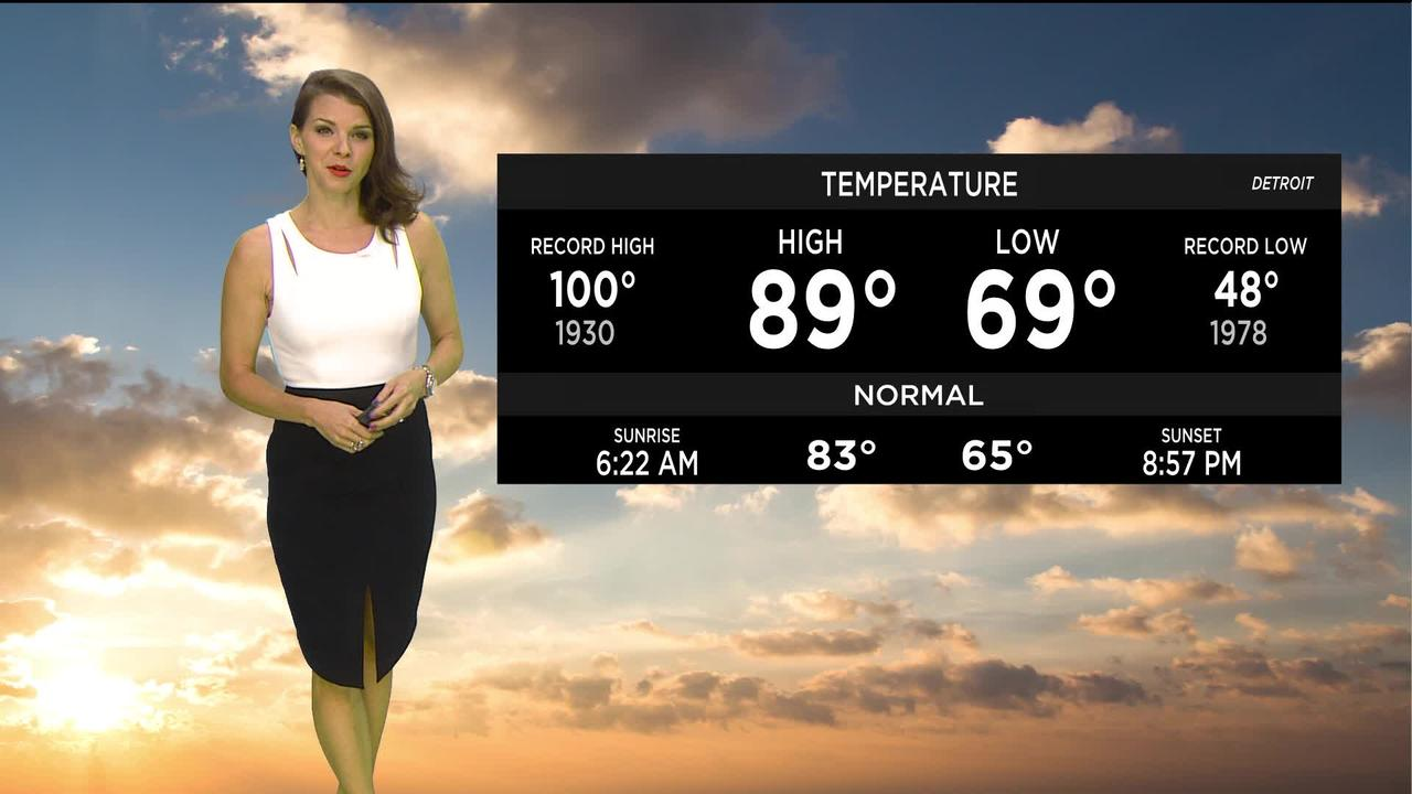First Forecast Weather July 28, 2021 (Tonight)