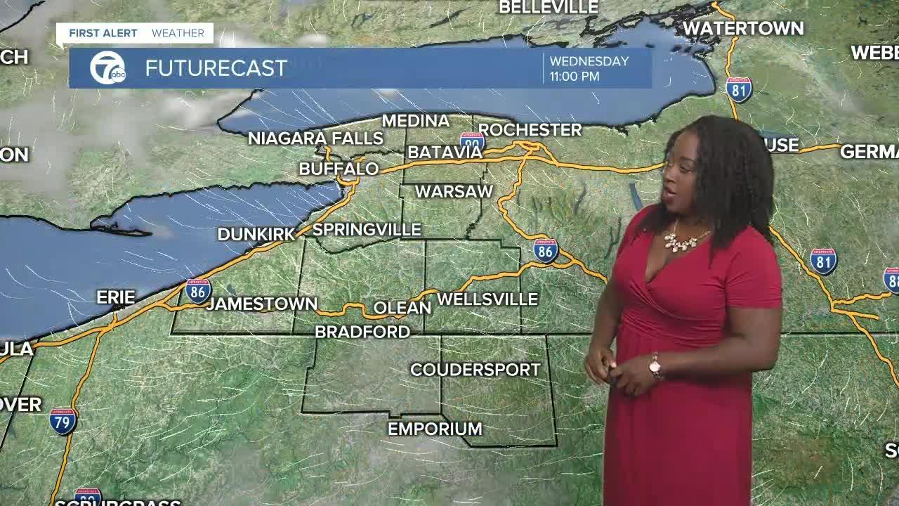 7 First Alert Forecast  5 p.m. Update, Wednesday July, 28