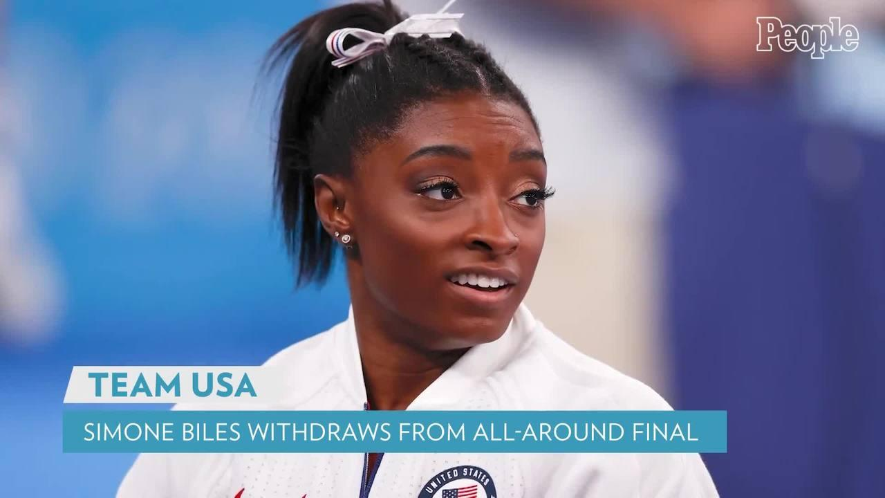 Simone Biles Withdraws from Olympic Individual All-Around Gymnastics Competition After Team Opt-Out