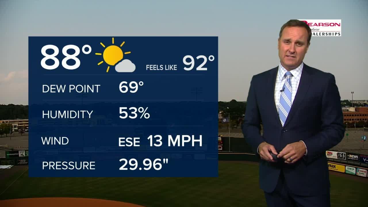 Zach's Wednesday Evening Weather Update