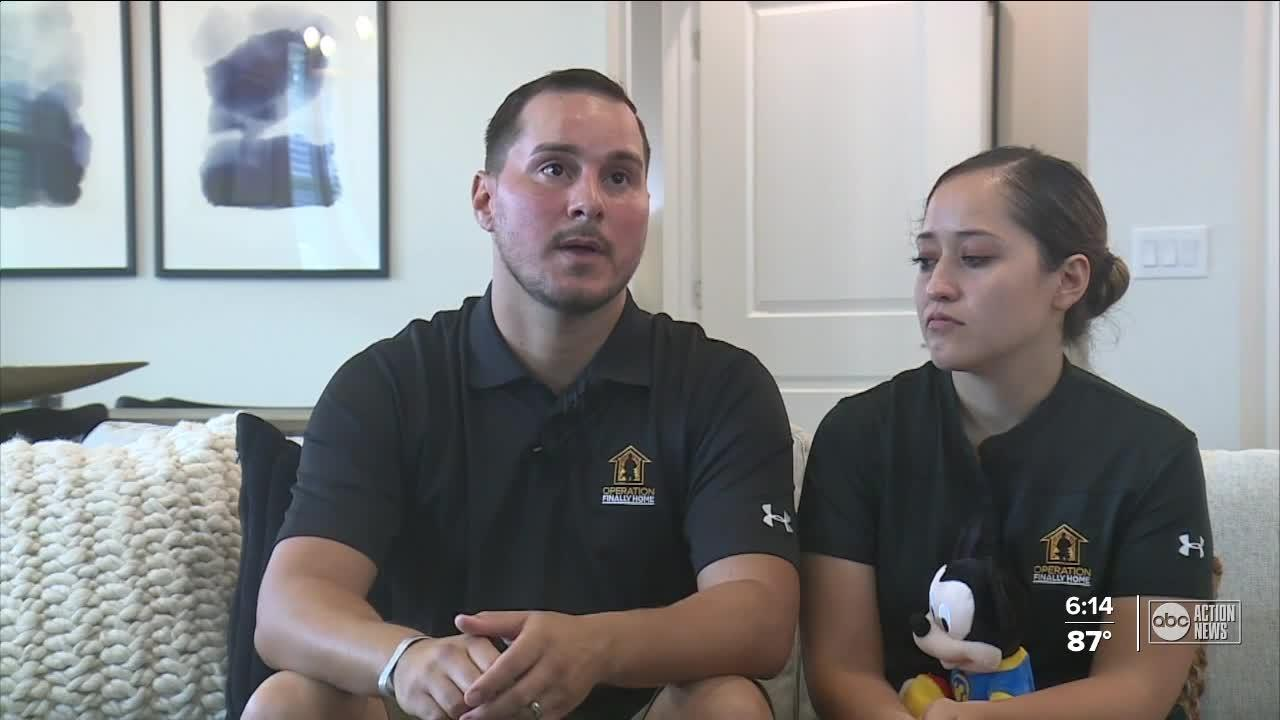 Veteran and his family receive heartwarming welcoming to new home in Pasco County
