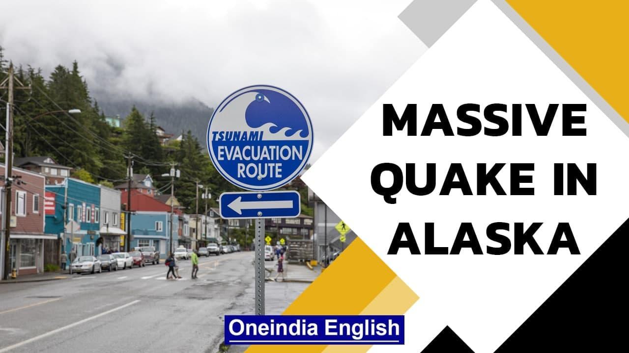 Massive earthquake hits Alaska, Tsunami warning triggered: Watch | Oneindia News