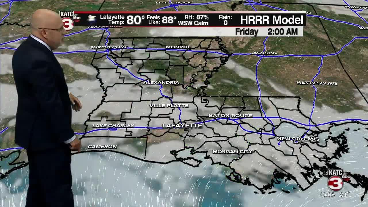 ROB'S WEATHER FORECAST PART 1 10PM 7-28-2021