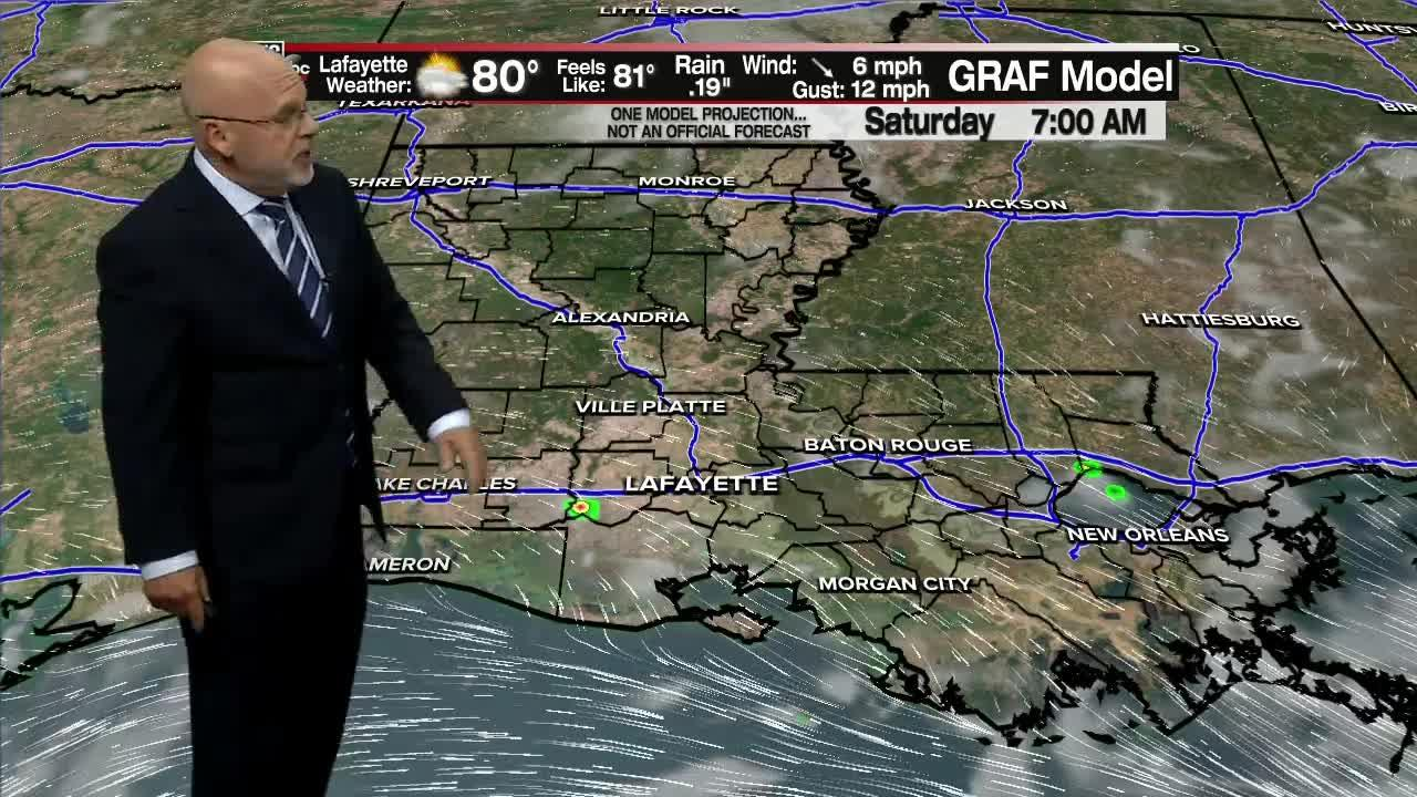ROB'S WEATHER FORECAST PART 2 10PM 7-28-2021