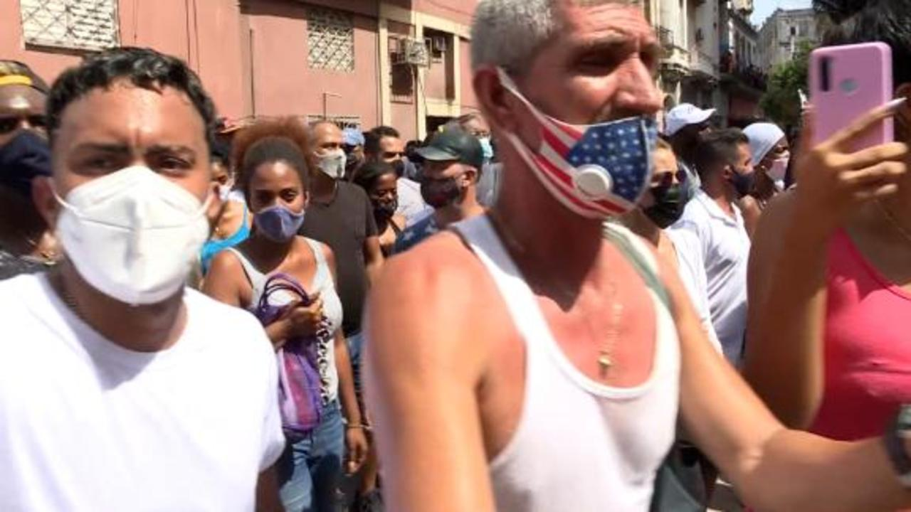 Families of detained protesters in Cuba speak out