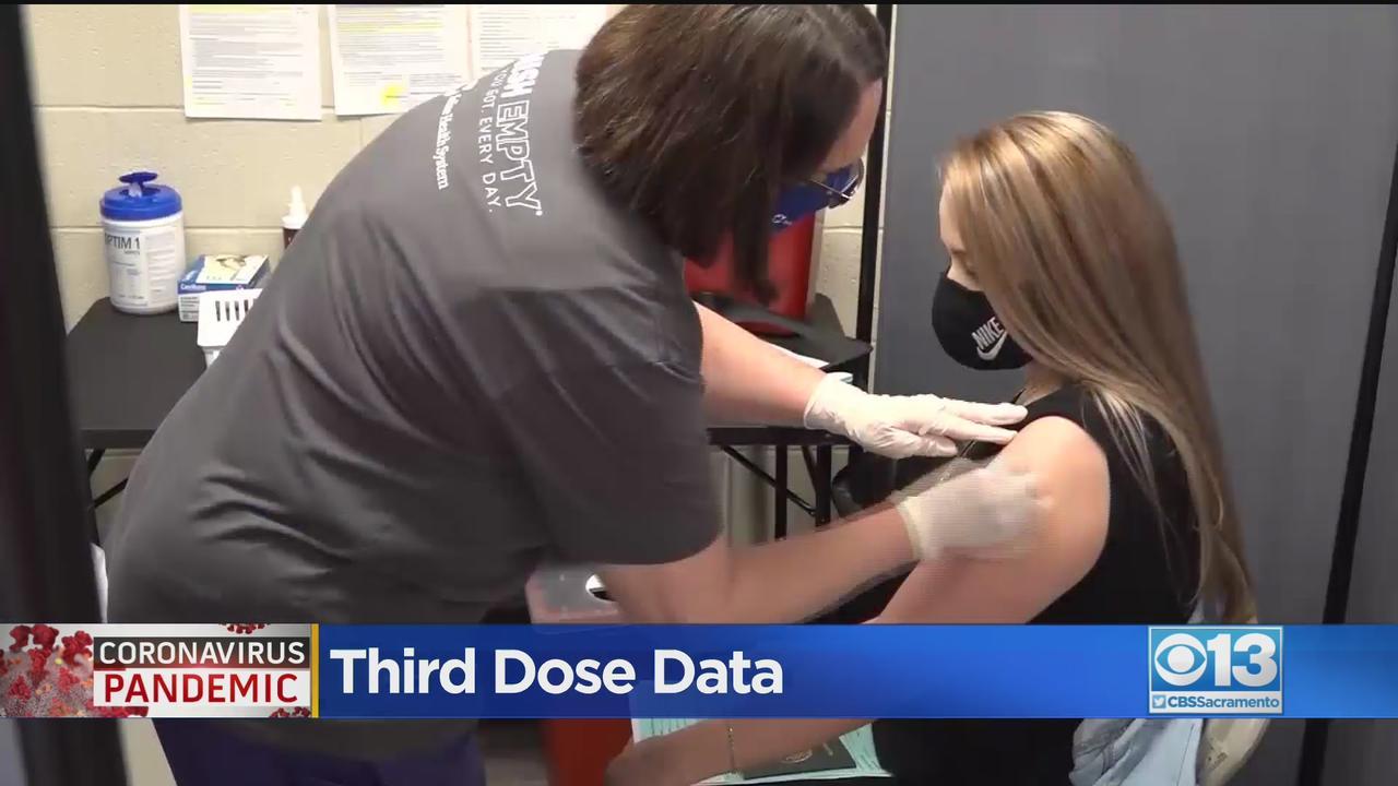 UC Davis Health Doctors Testing COVID-19 Booster Shot