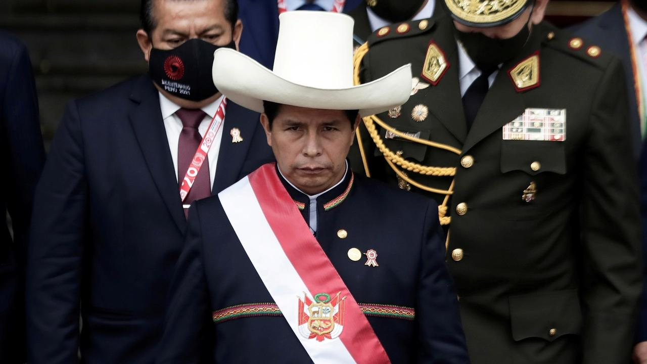 Peru's Castillo faces major challenges as presidency begins