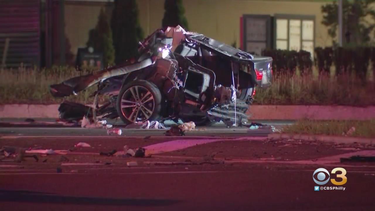 Violent Crash Closes Route 38 In Maple Shade