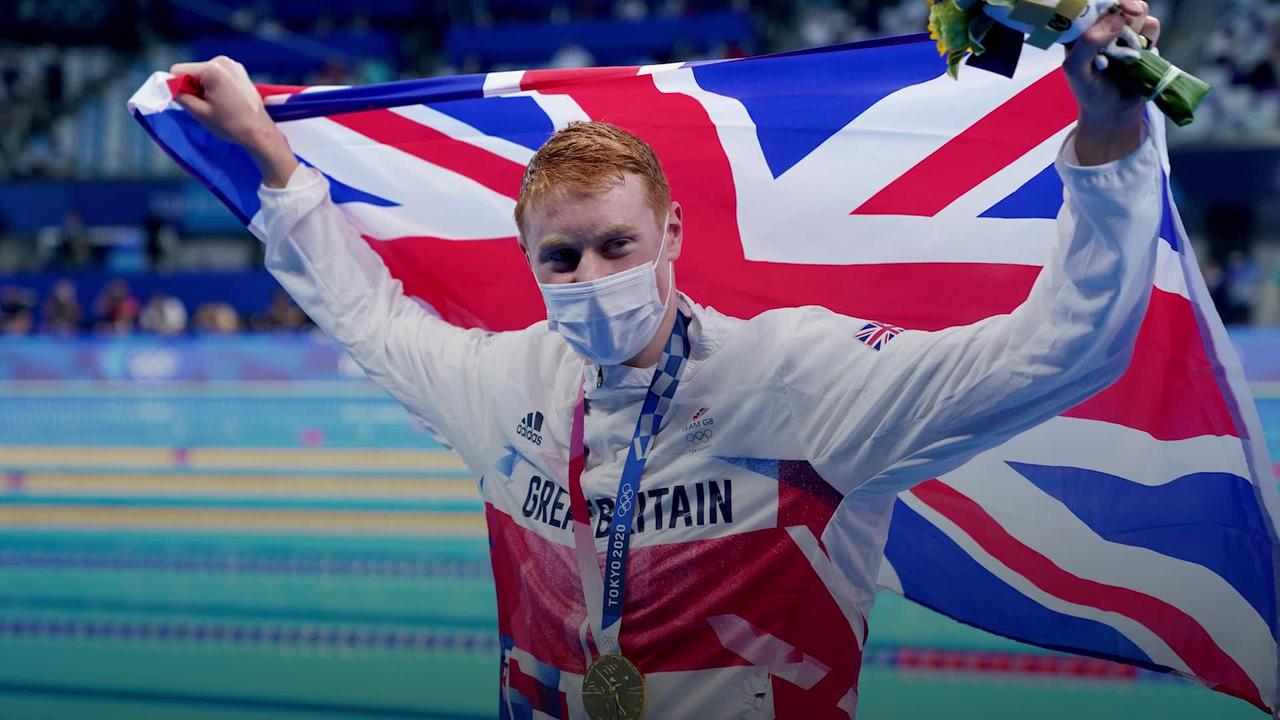 Winning gold was the 'proudest day of my life', says swimmer Tom Dean