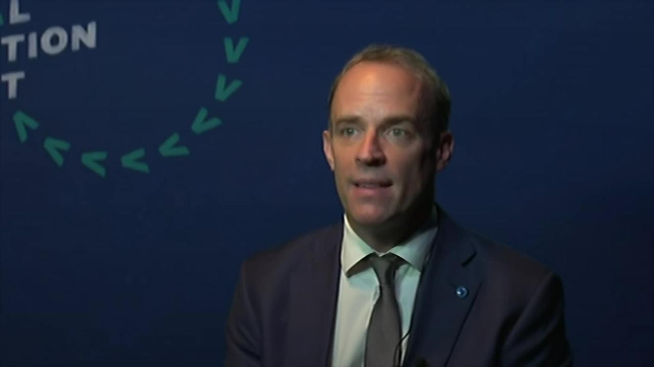 Raab insists that new travel measures are 'safe'