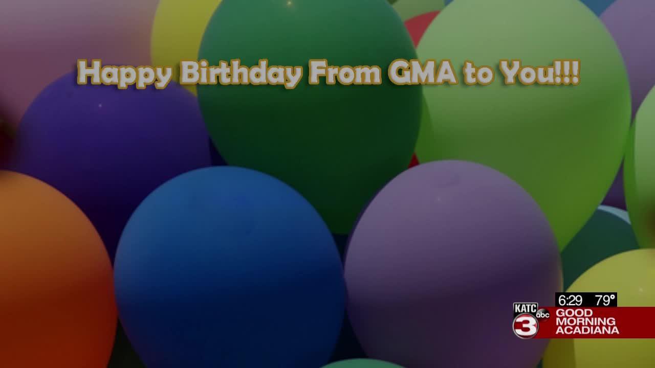 Today's birthdays 07/29/2021