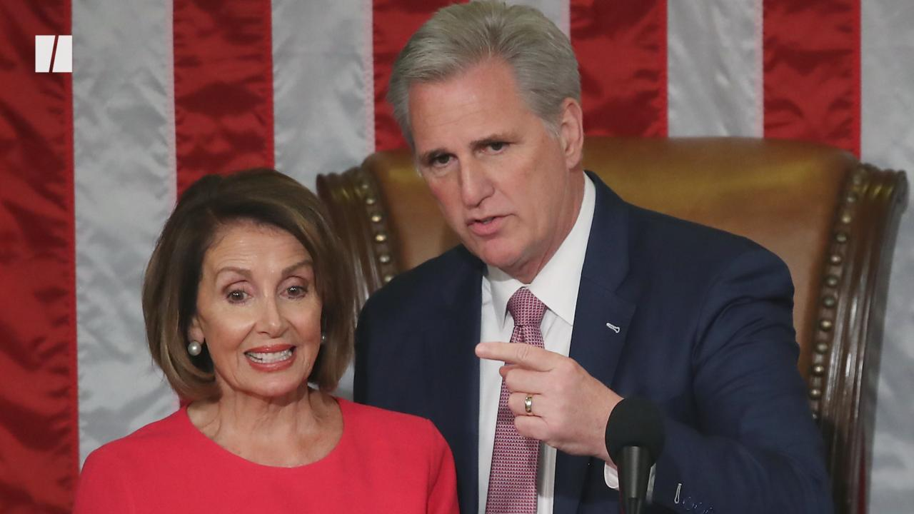 Nancy Pelosi: McCarthy Is A 'Moron'