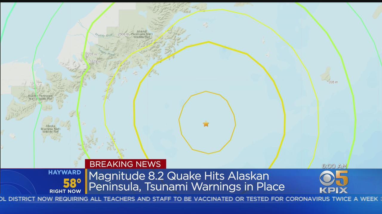 8.2 Quake: Major earthquake strikes off Alaskan coast, tsunami warning lifted for Northern California