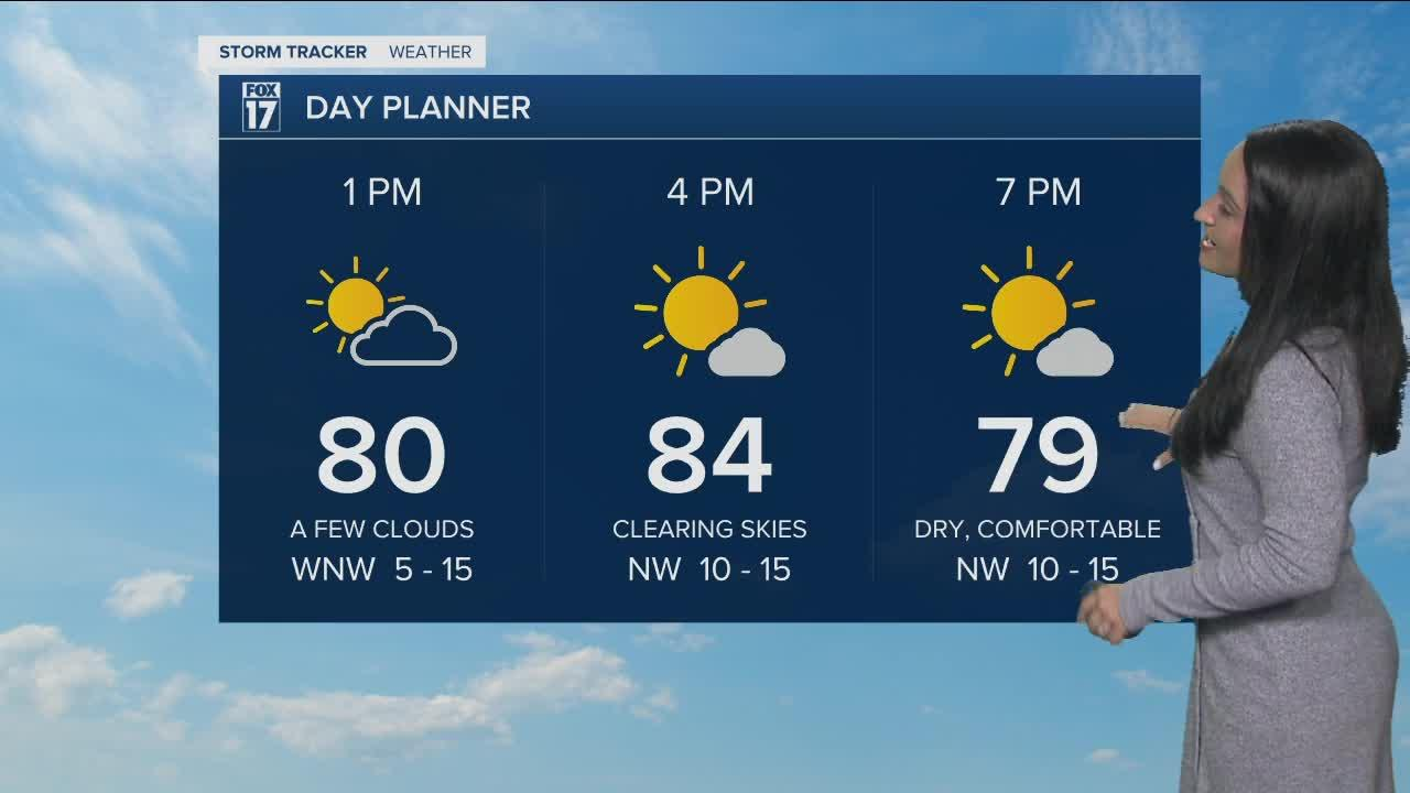 Thursday Midday Forecast - July 29th, 2021
