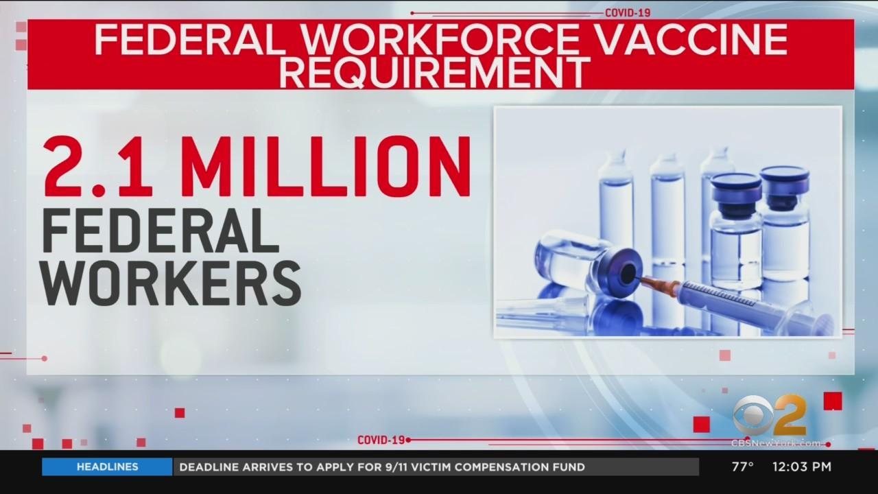 Pres. Biden Expected To Announce COVID Vaccine Rules For Federal Workers