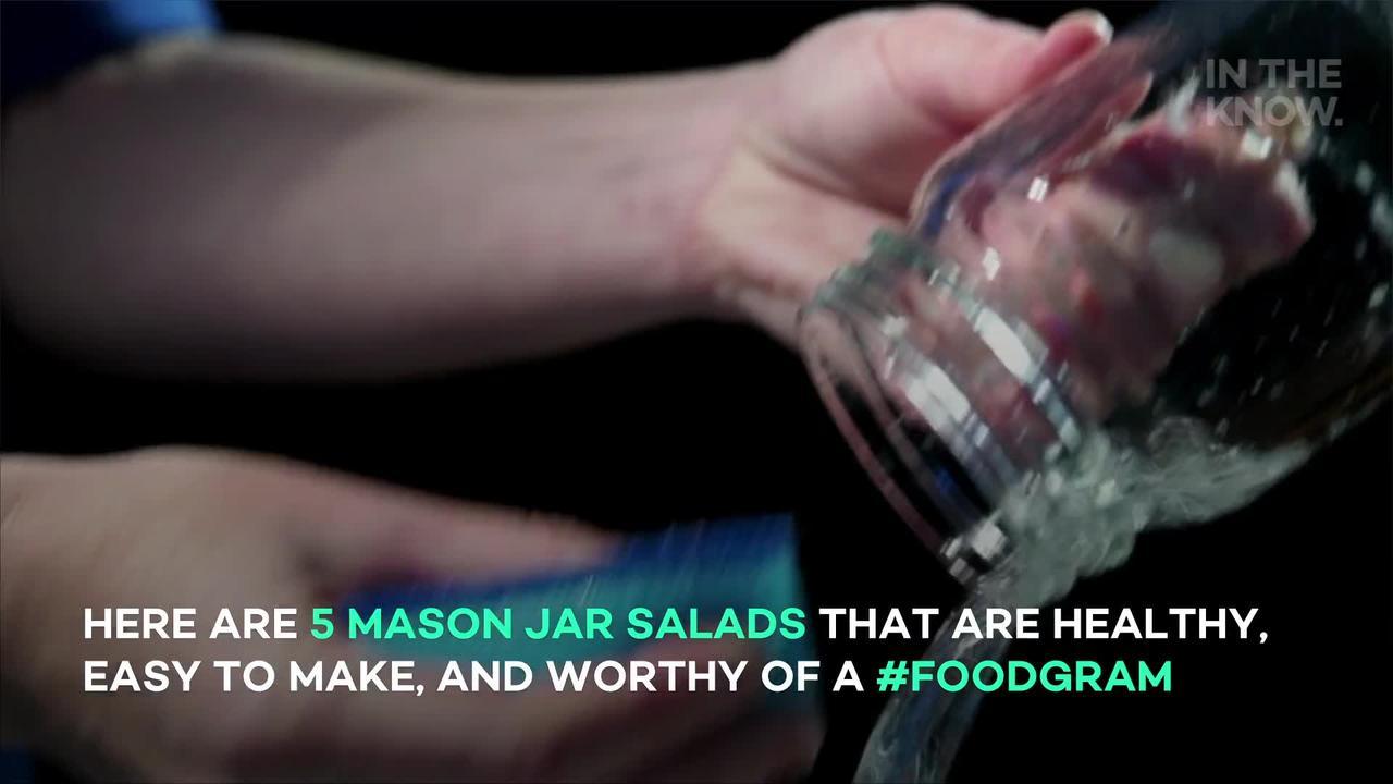 5 Mason Jar salads to up your food prep game
