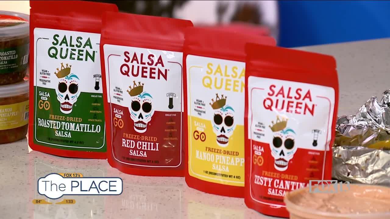 Salsa Queen now has freeze dried salsa