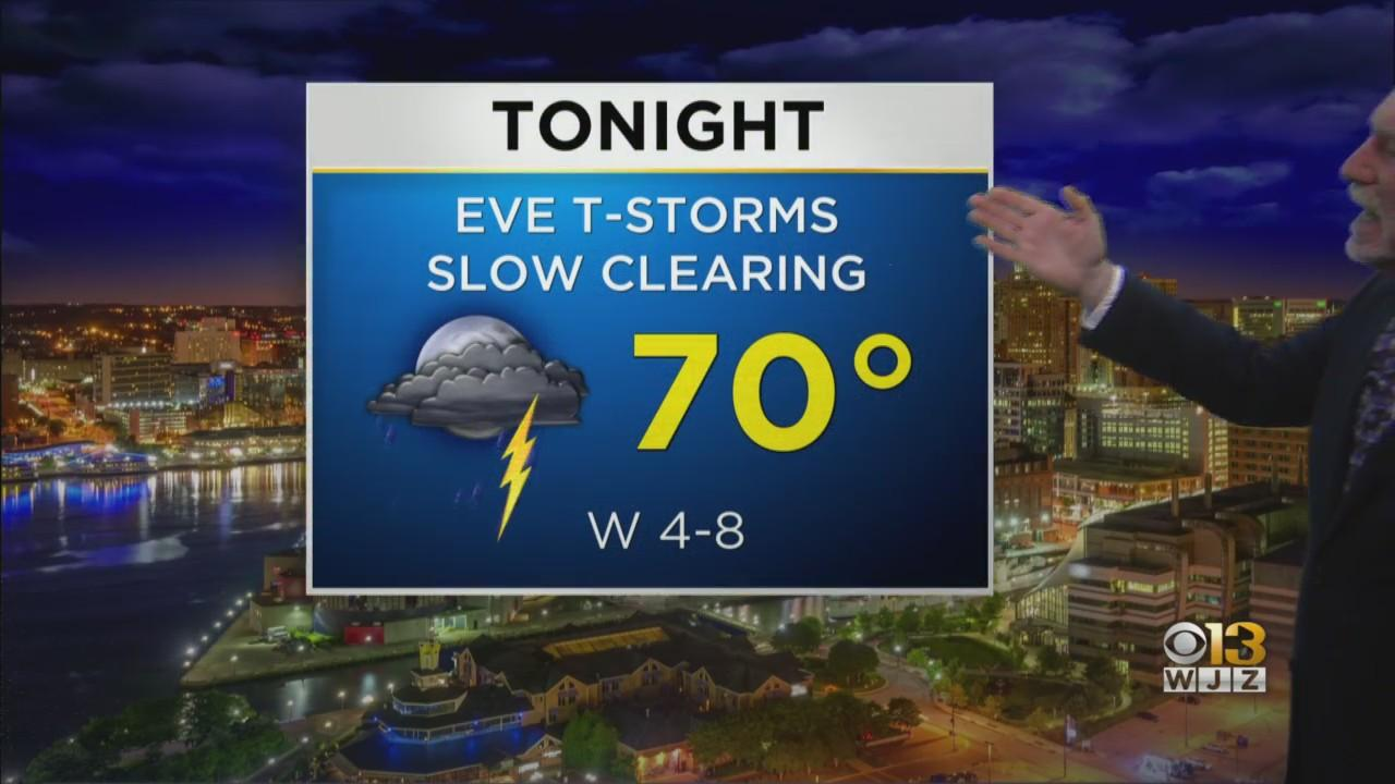 WJZ Weather Team Has Your Thursday Evening Forecast