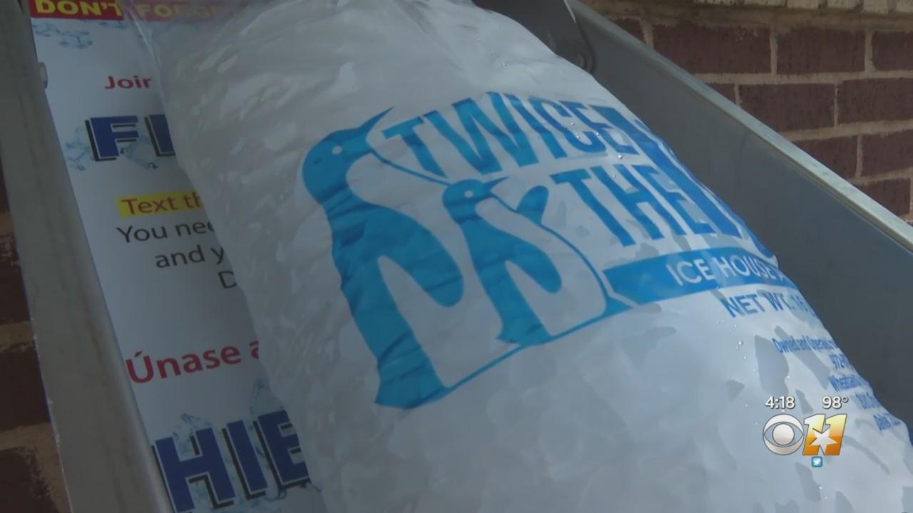 Triple-Digit Temps Increasing Demand For Ice In North Texas