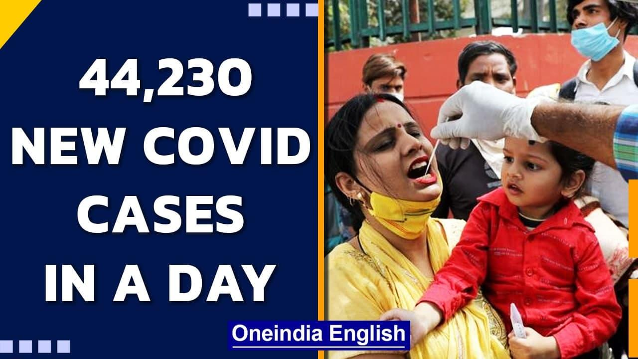 India records 44,230 Covid cases in a day, Kerala reports highest   Oneindia News
