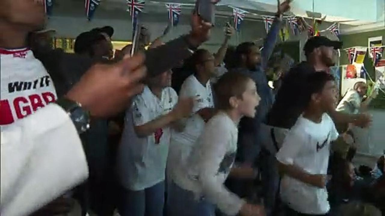 Jubilant scenes as Kye Whyte makes Olympic history