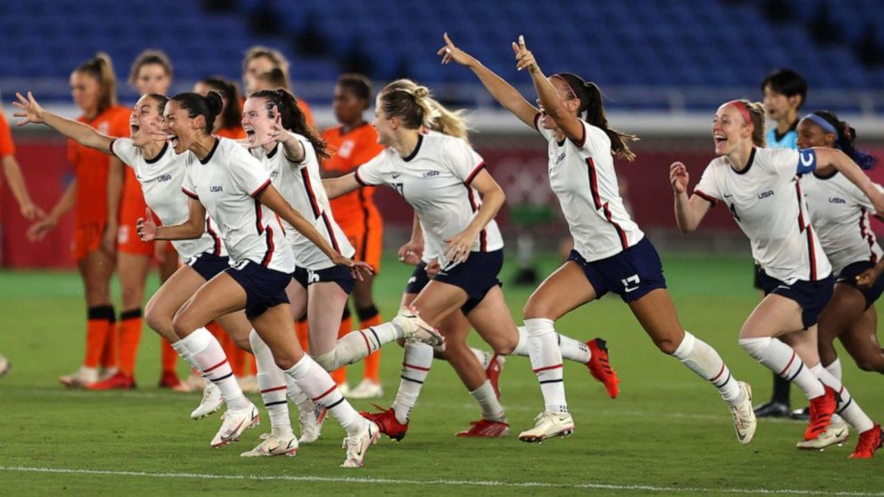 US Women's Soccer Advances to Olympic Semifinals After Beating the Netherlands