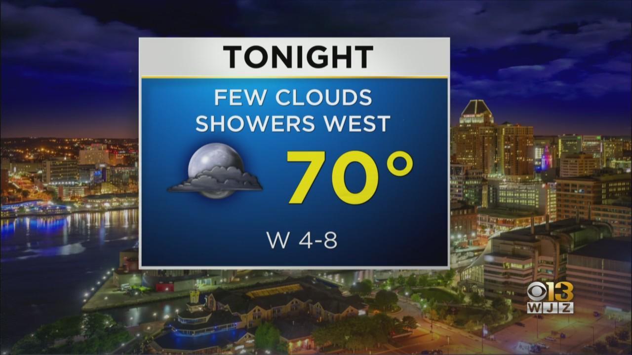 Bob Turk Has Your Thursday Night Forecast