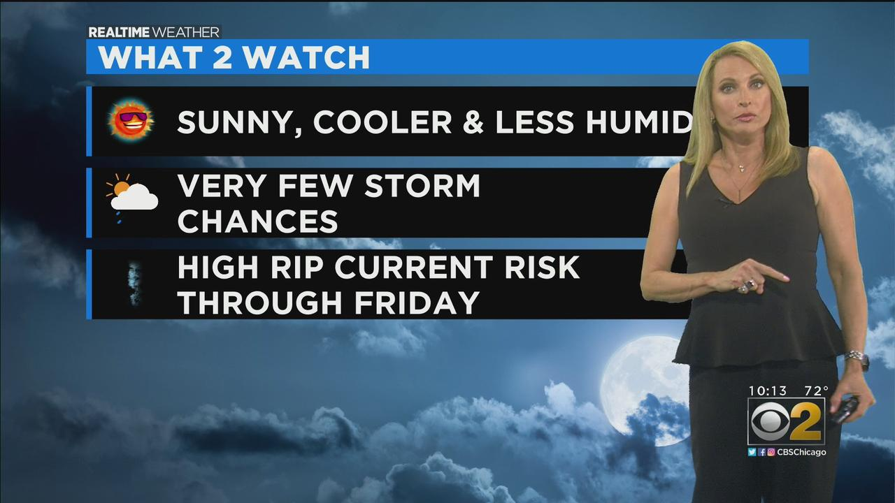 Chicago Weather: Sunny, Cooler, And Less Humid