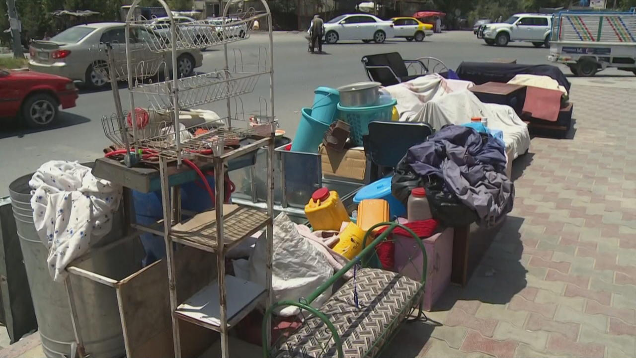 Thousands of Afghans flee as violence increases