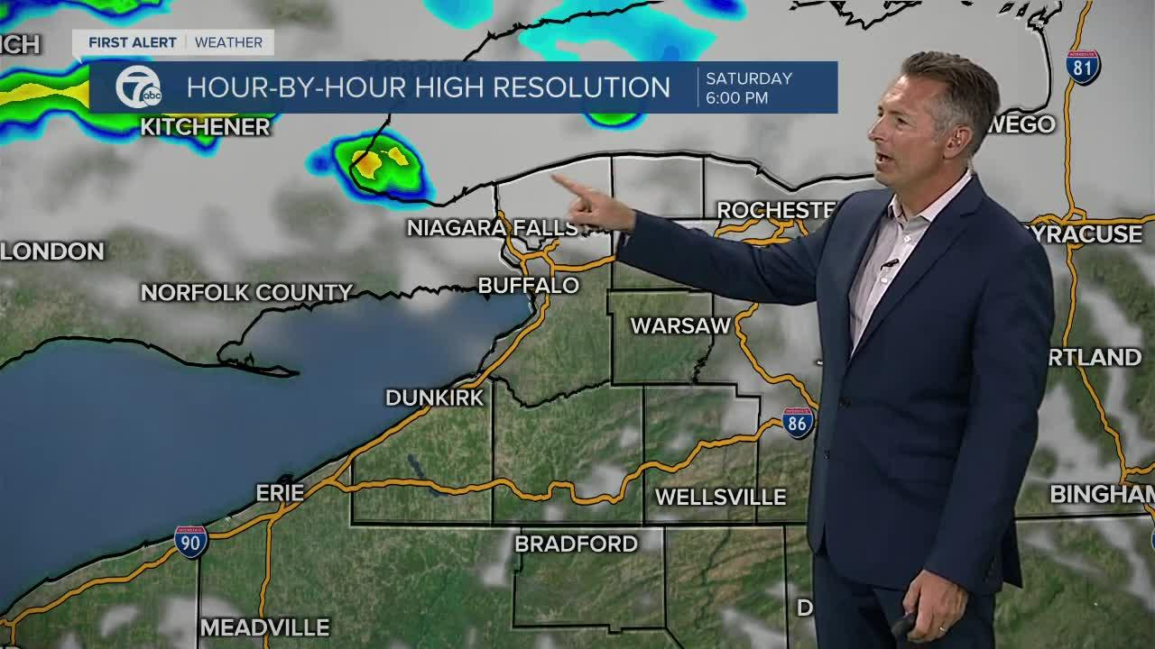 7 First Alert Forecast Noon Update, Friday, July 30