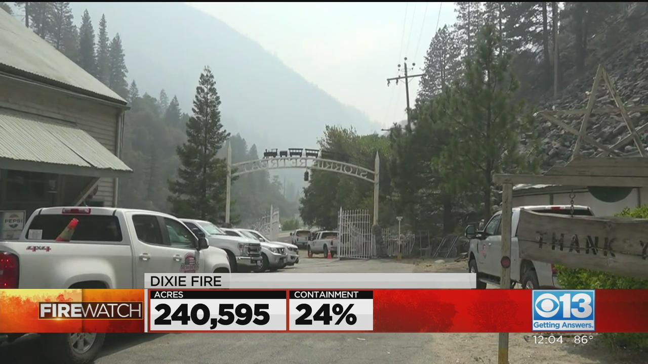 Dixie Fire Grows To 240,595 Acres, 24% Contained