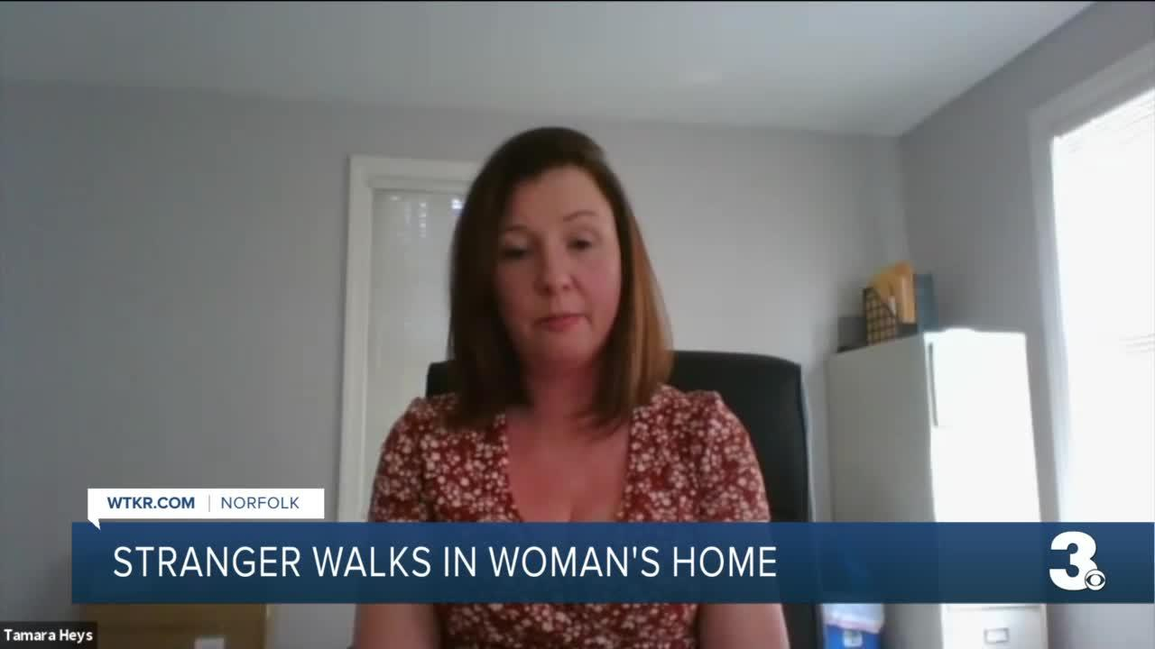 Norfolk woman confronted by intruder urges investment in home security