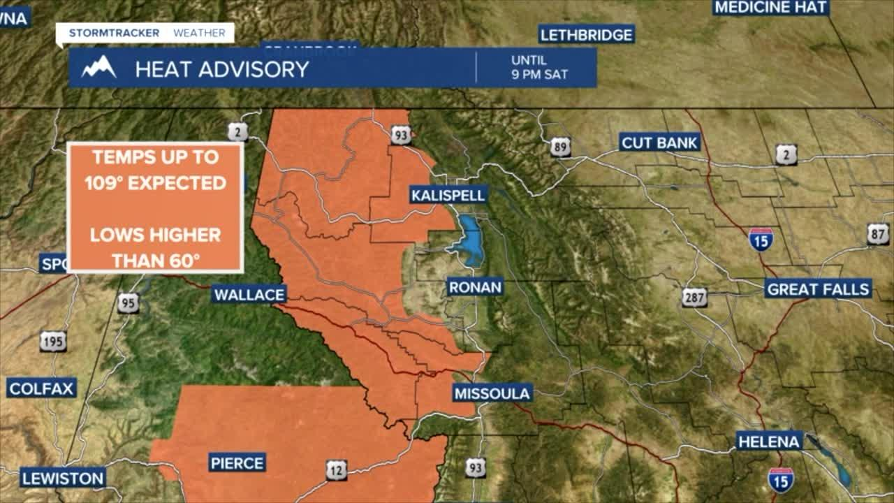 Hot, dry, and smoky start to the weekend