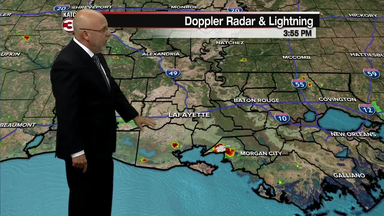 ROB'S WEATHER FORECAST PART 2 5PM 7-30-2021