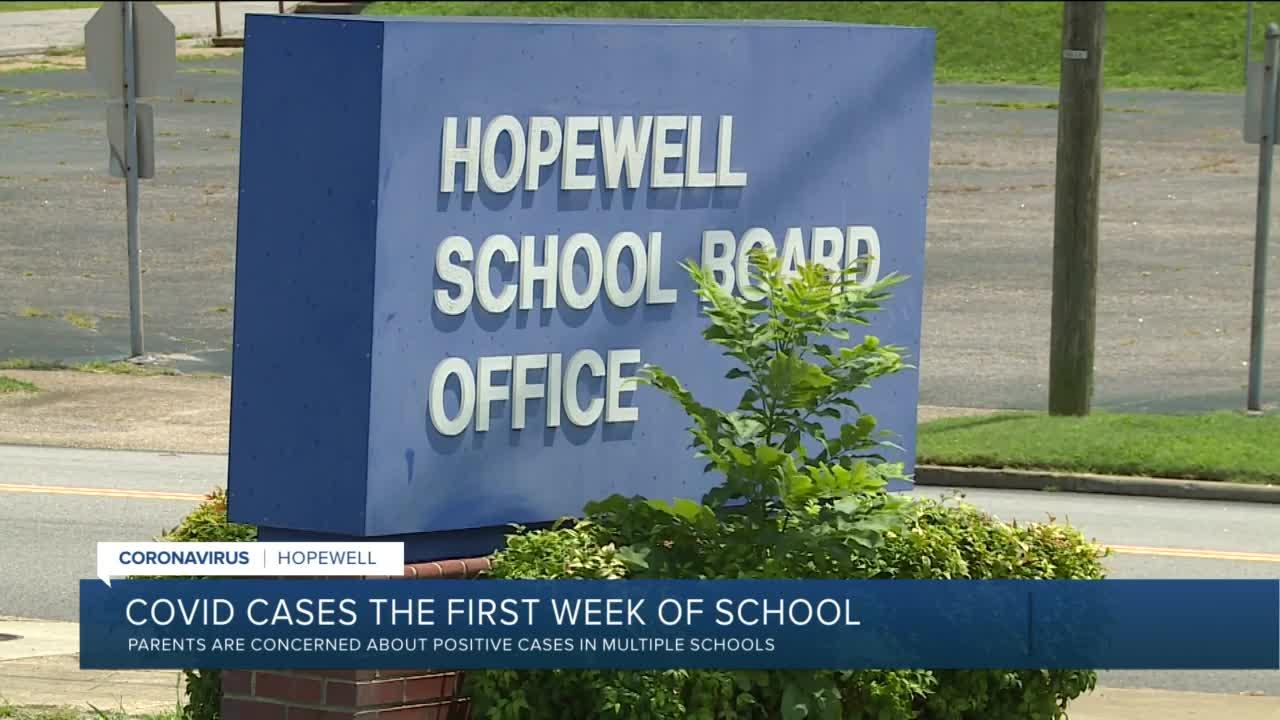 One week into new school year, COVID already concerning Hopewell parents