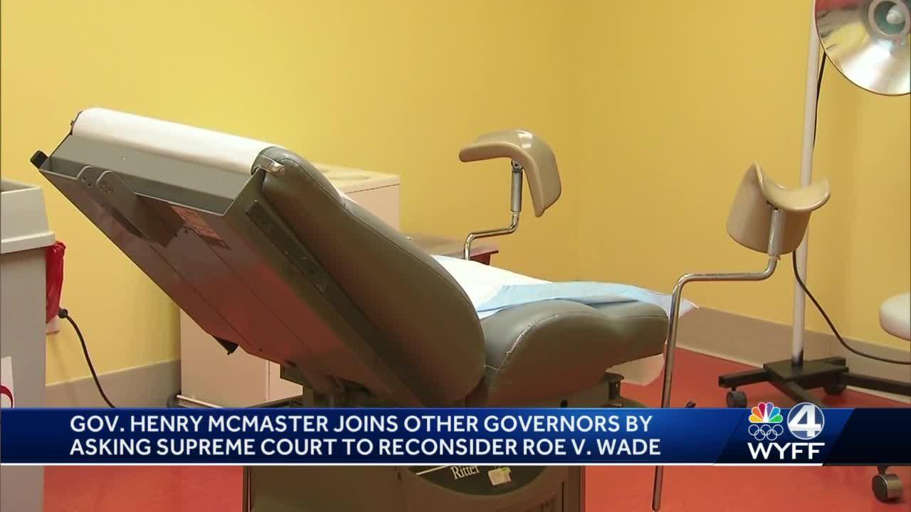 SC governor Henry McMaster leads GOP govs, lawmakers in supporting Mississippi anti-abortion law