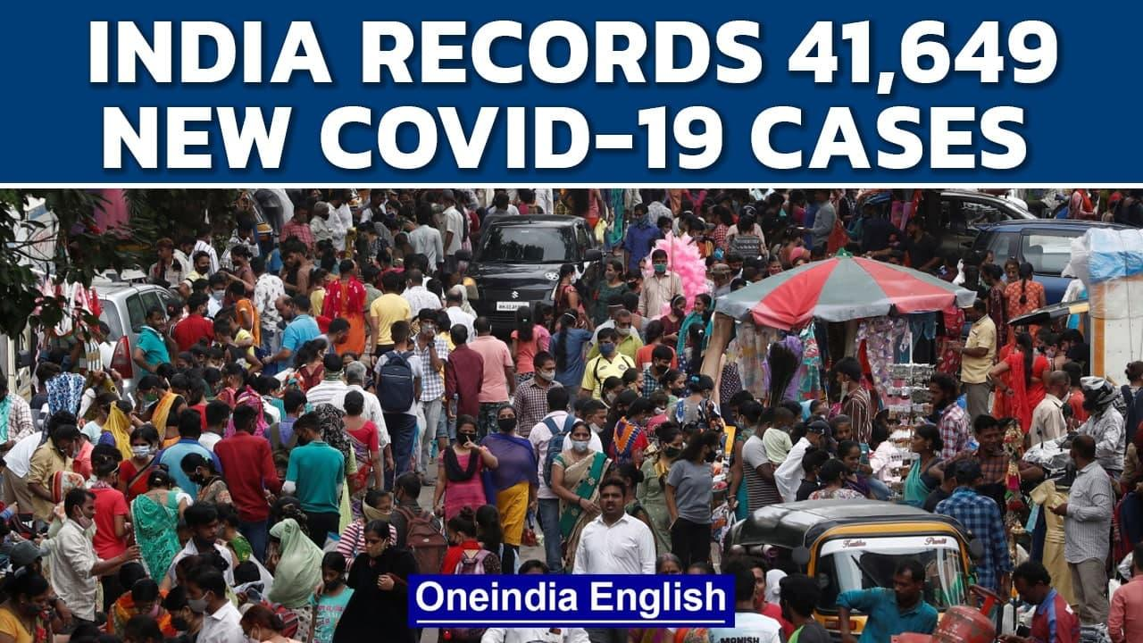 India records 41,649 lakh fresh cases and 593 deaths| Covid-19 | Oneindia News