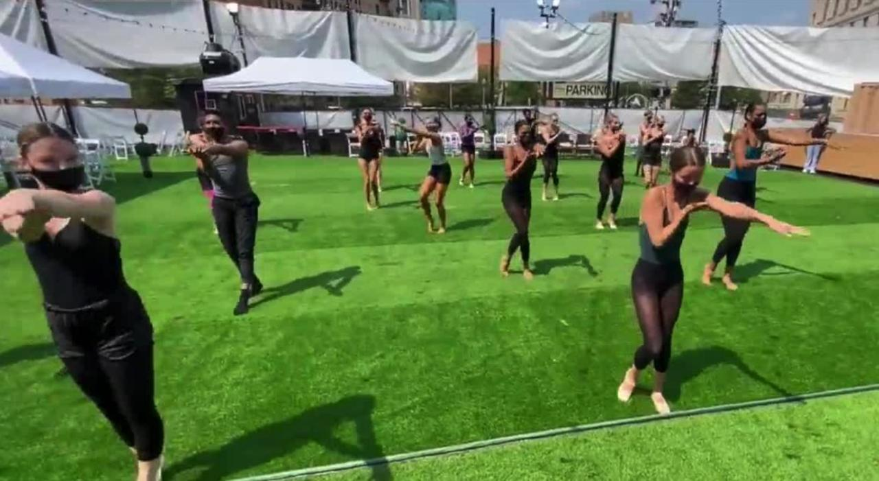 Arts returning to Detroit after COVID hiatus with ballet at the Music Hall's new outdoor ampitheater