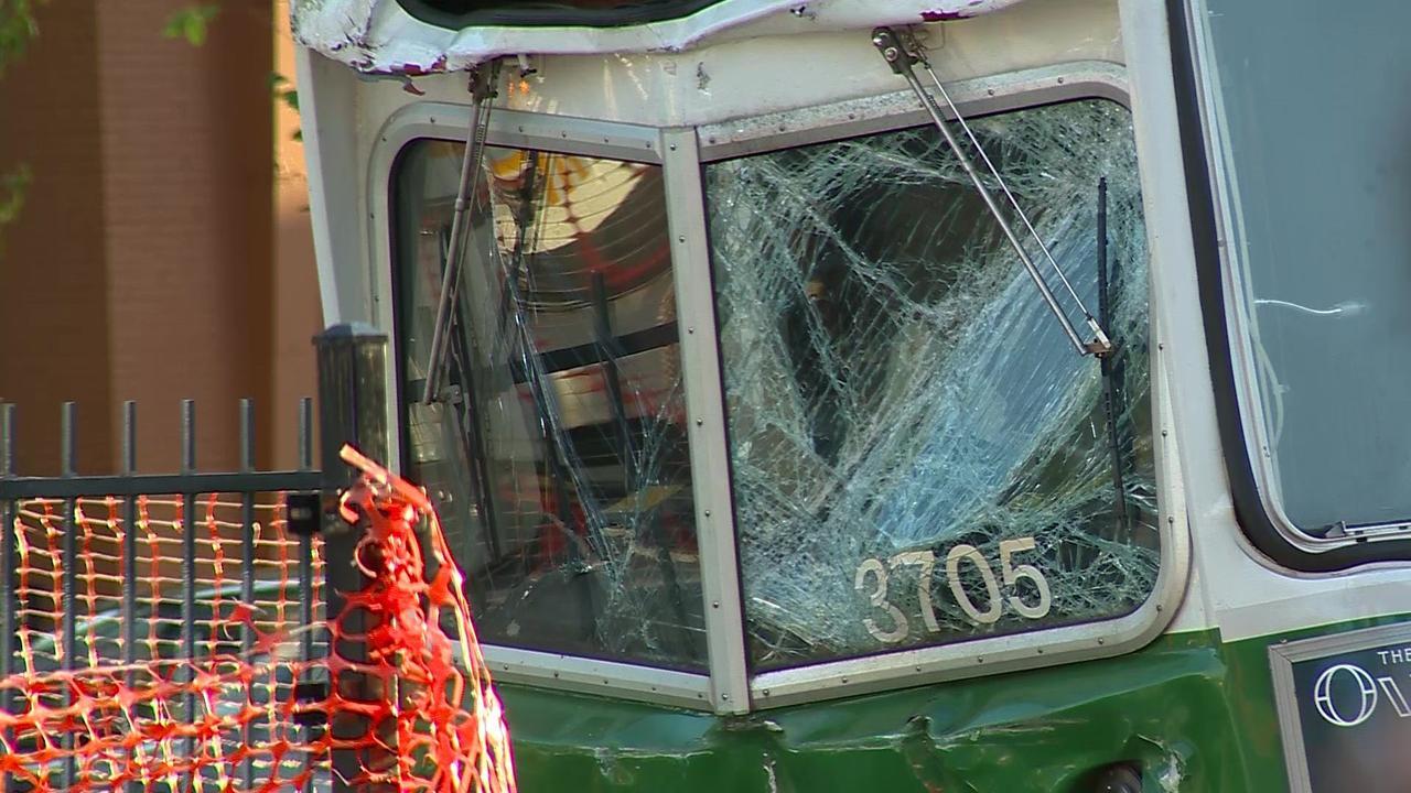 Passengers inside MBTA Green Line trolleys describe crash impact