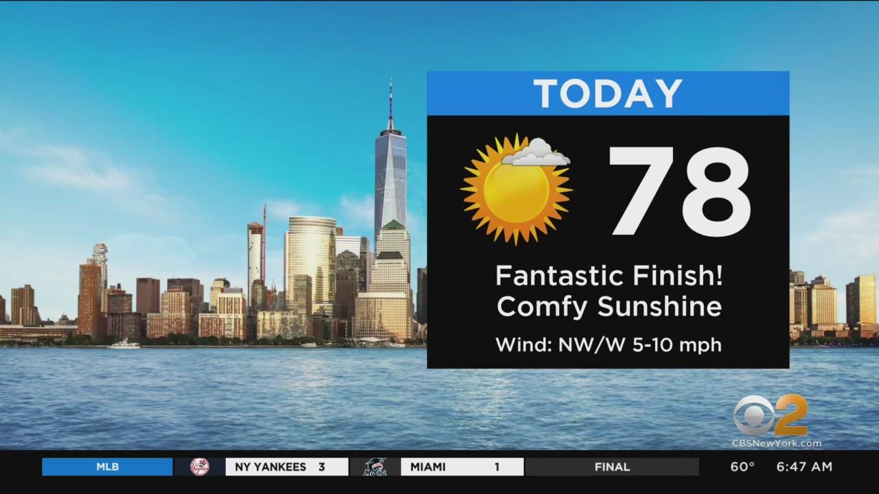New York Weather: CBS2's 7/31 Saturday Morning Forecast