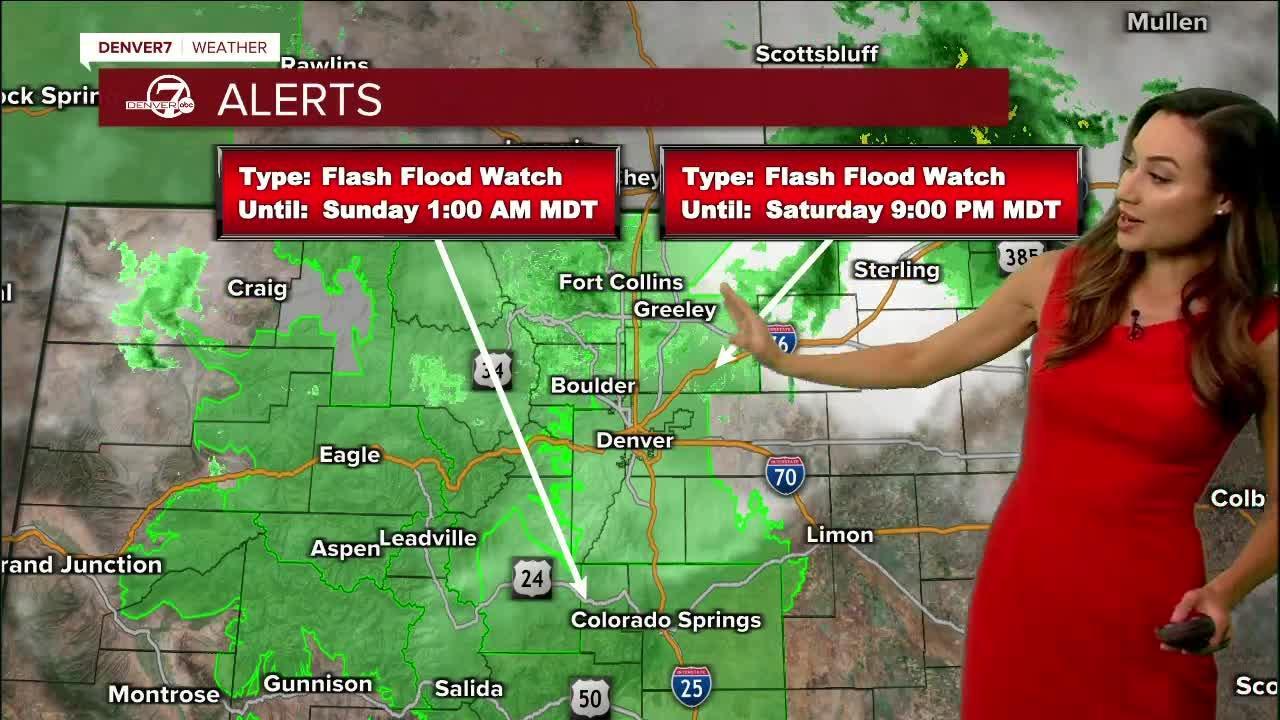 Flash Flood Watch Saturday