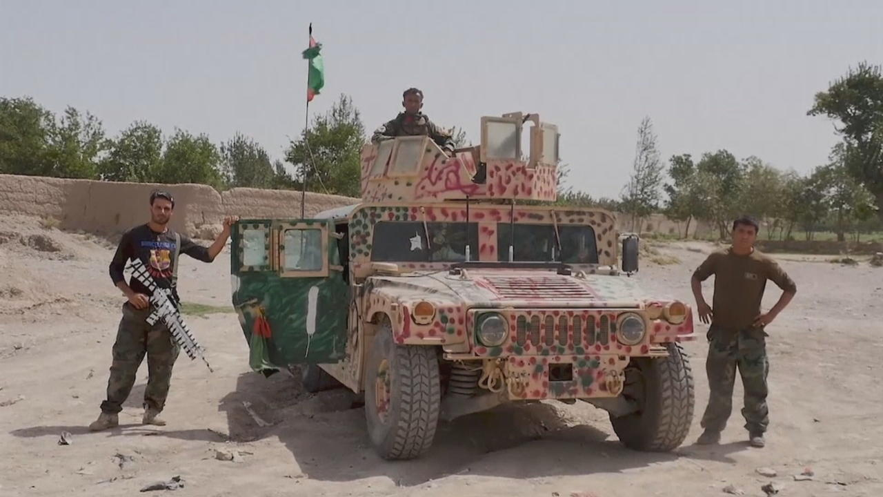 Taliban fights Afghan government forces around Herat