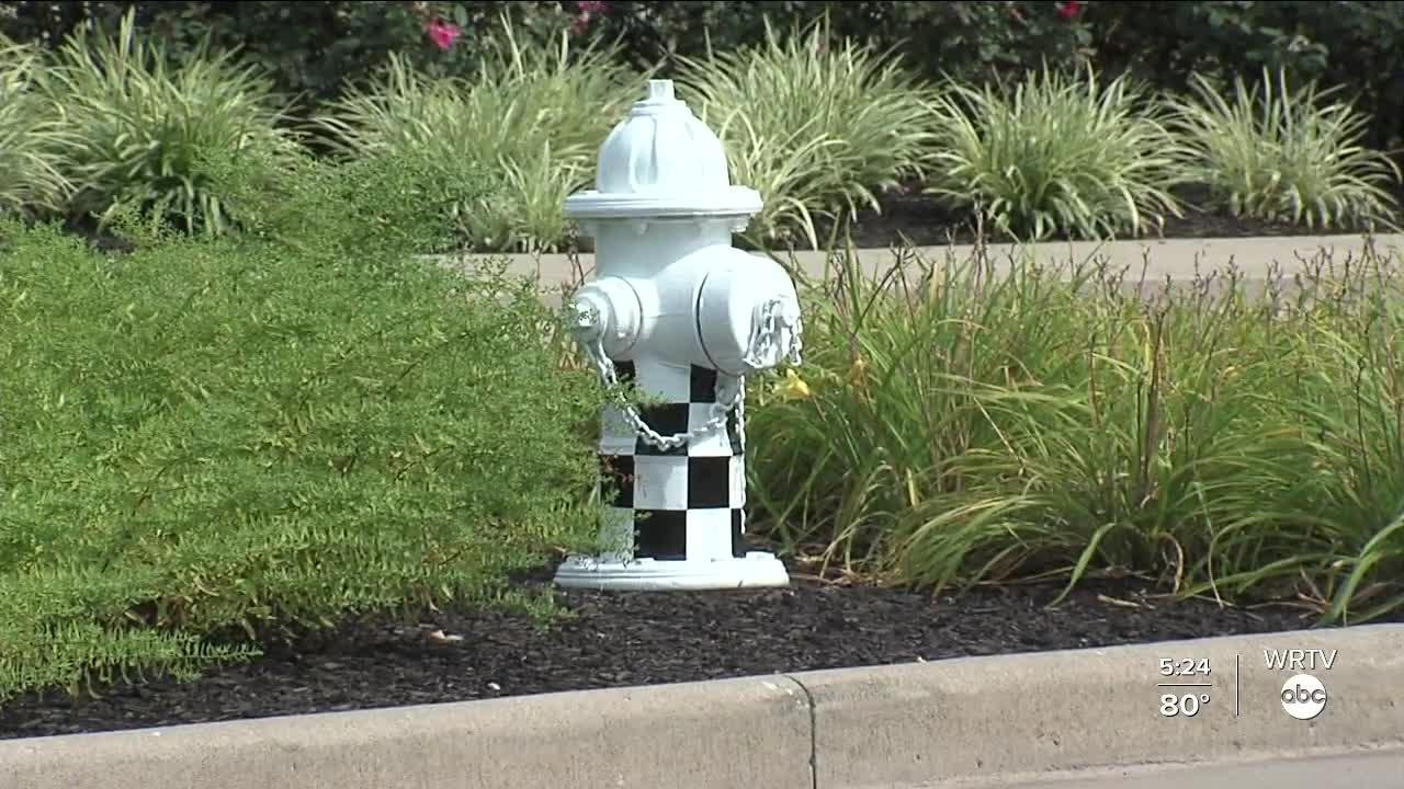 Speedway fire hydrants get new look