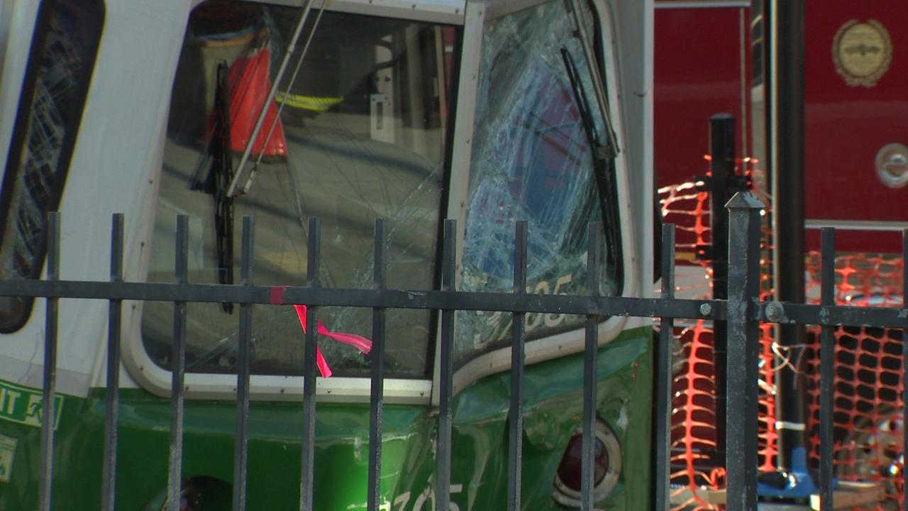 MBTA trolley driver on leave as NTSB joins Green Line collision probe