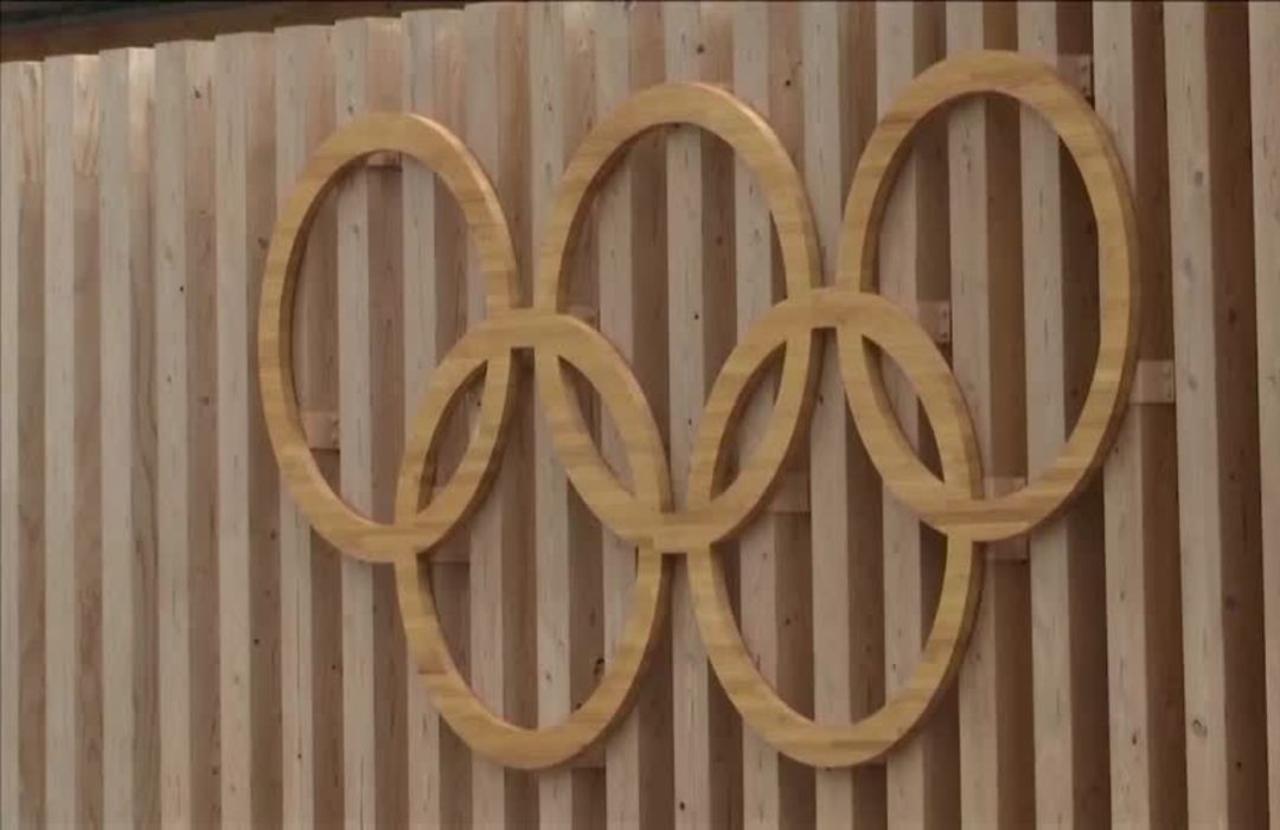 Athletes enjoy a break from 'mental' Olympics