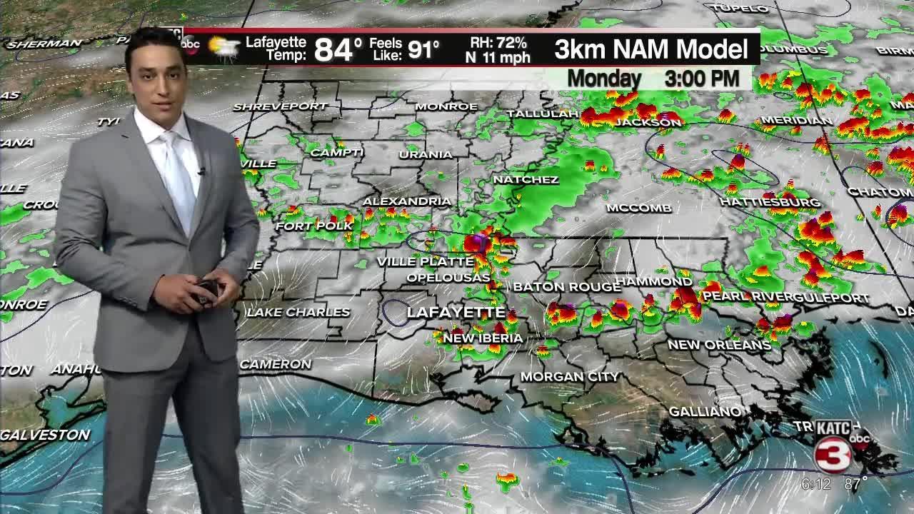 Bradley's 6pm Part 2 Weather Forecast 7-31-21