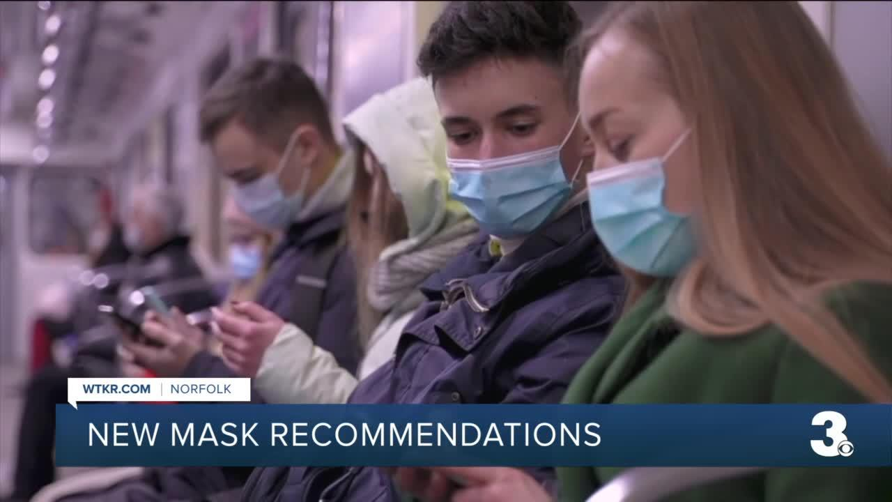 Norfolk residents and tourists react to updated CDC mask recommendations