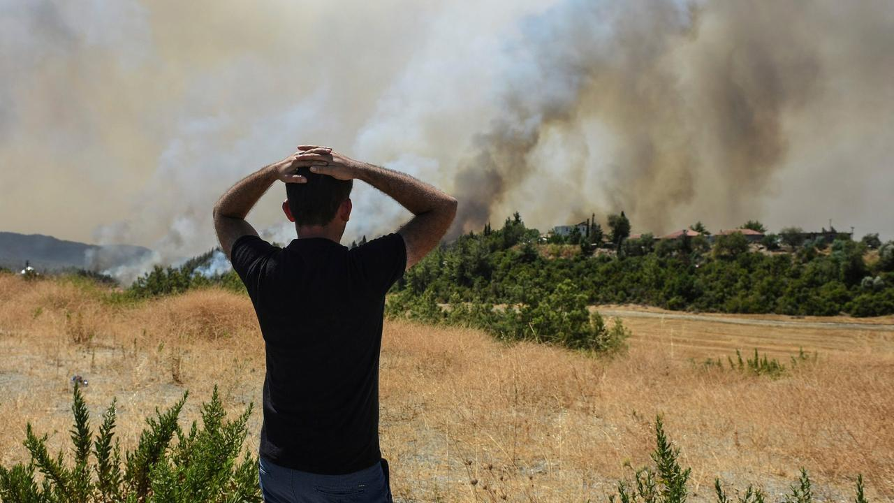 Turkey declares 'disaster areas' as wildfire death toll rises
